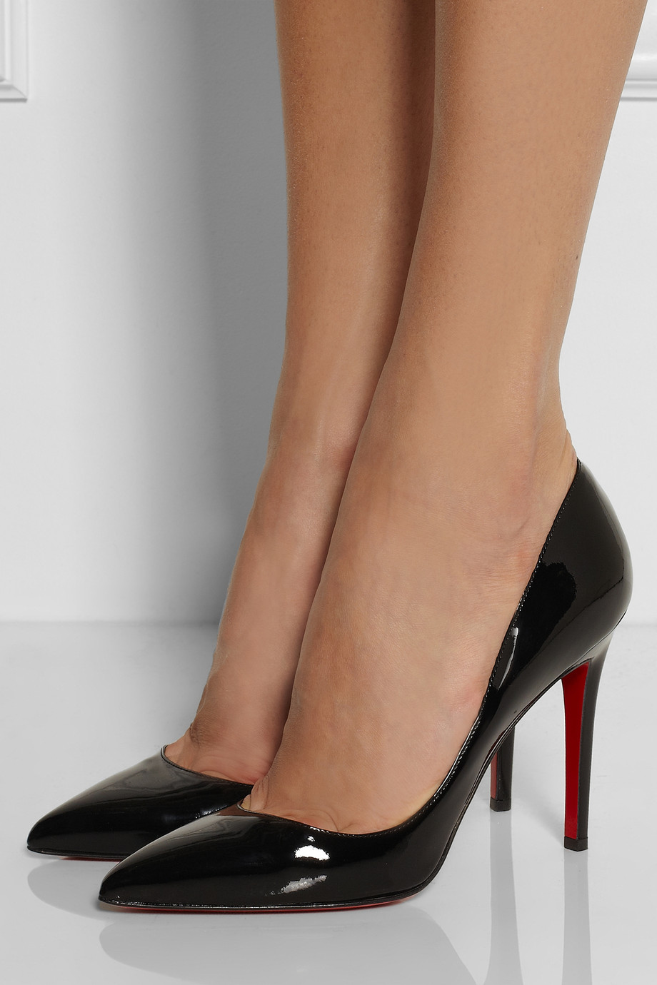 Lyst Christian Louboutin The Pigalle 100 Patent Leather