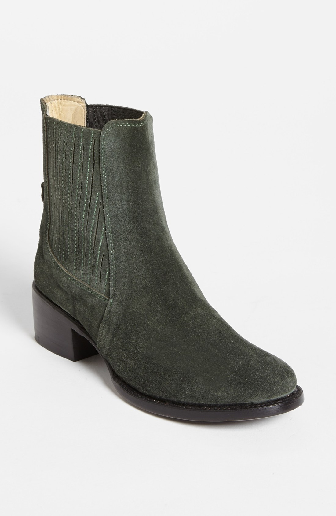 Elizabeth And James April Boot In Green Forest Green