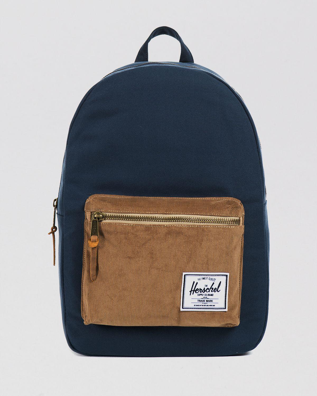 Herschel Supply Co Settlement Backpack: Herschel Supply Co. Settlement Studio Backpack In Blue For