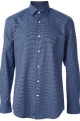 Hugo Boss Polka Dot Shirt - Lyst