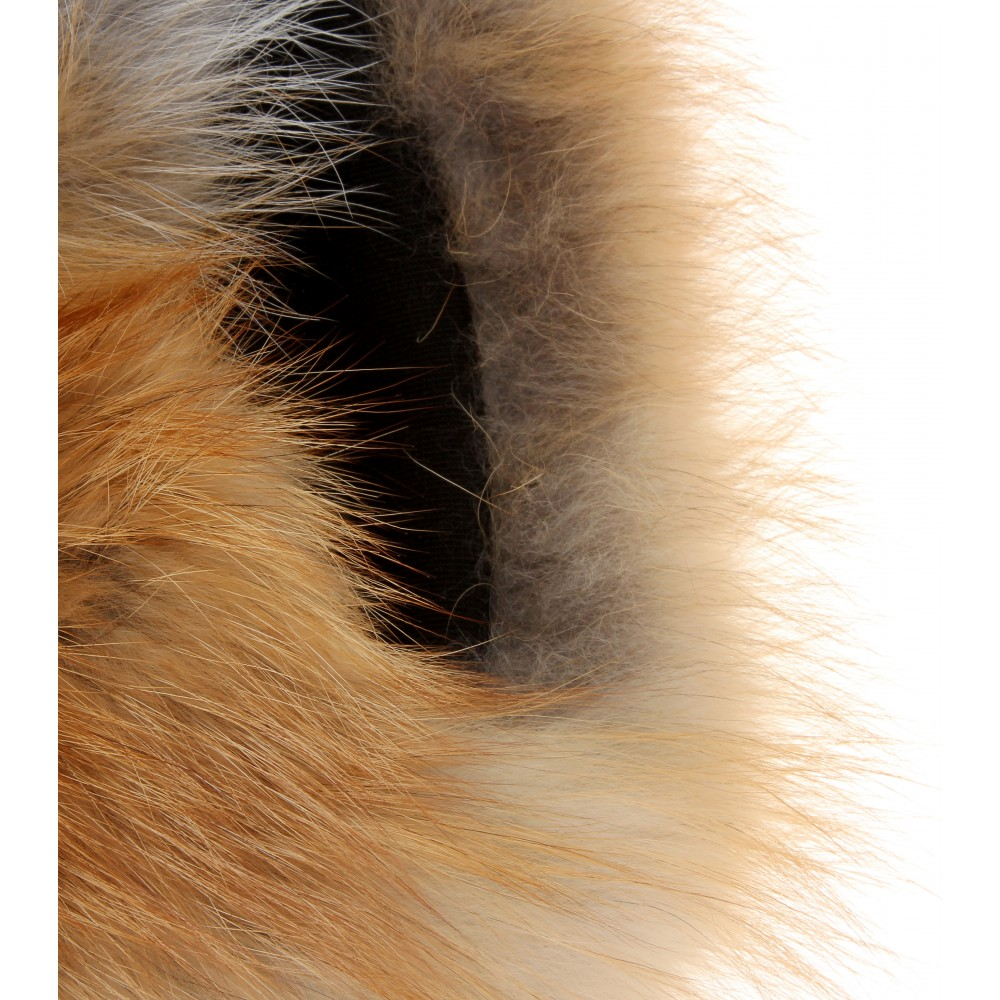 Lyst Ins amp Marchal Vip Fox Fur Snood in Brown