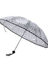 Marc By Marc Jacobs Jumbled Logo Print Umbrella - Lyst