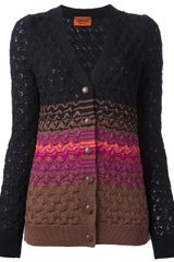 Missoni Knit Cardigan - Lyst