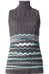 Missoni Sleeveless Top - Lyst