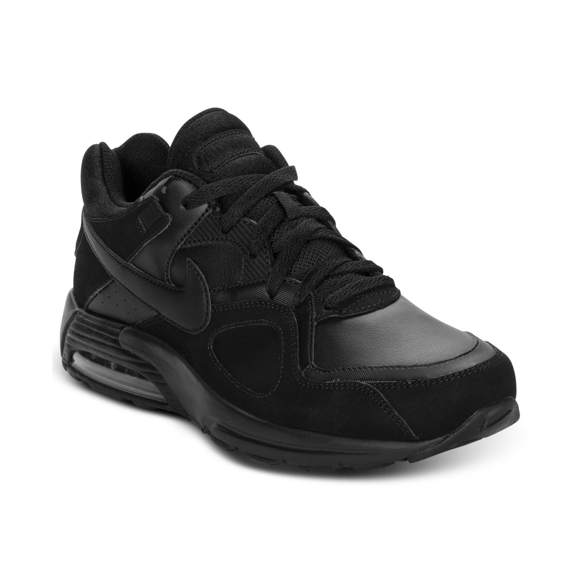 Nike Air Max Aller Fort Collier En Cuir