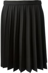 RED Valentino Sunray Pleated Skirt - Lyst