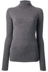 Thomas Wylde Turtle Neck Top - Lyst