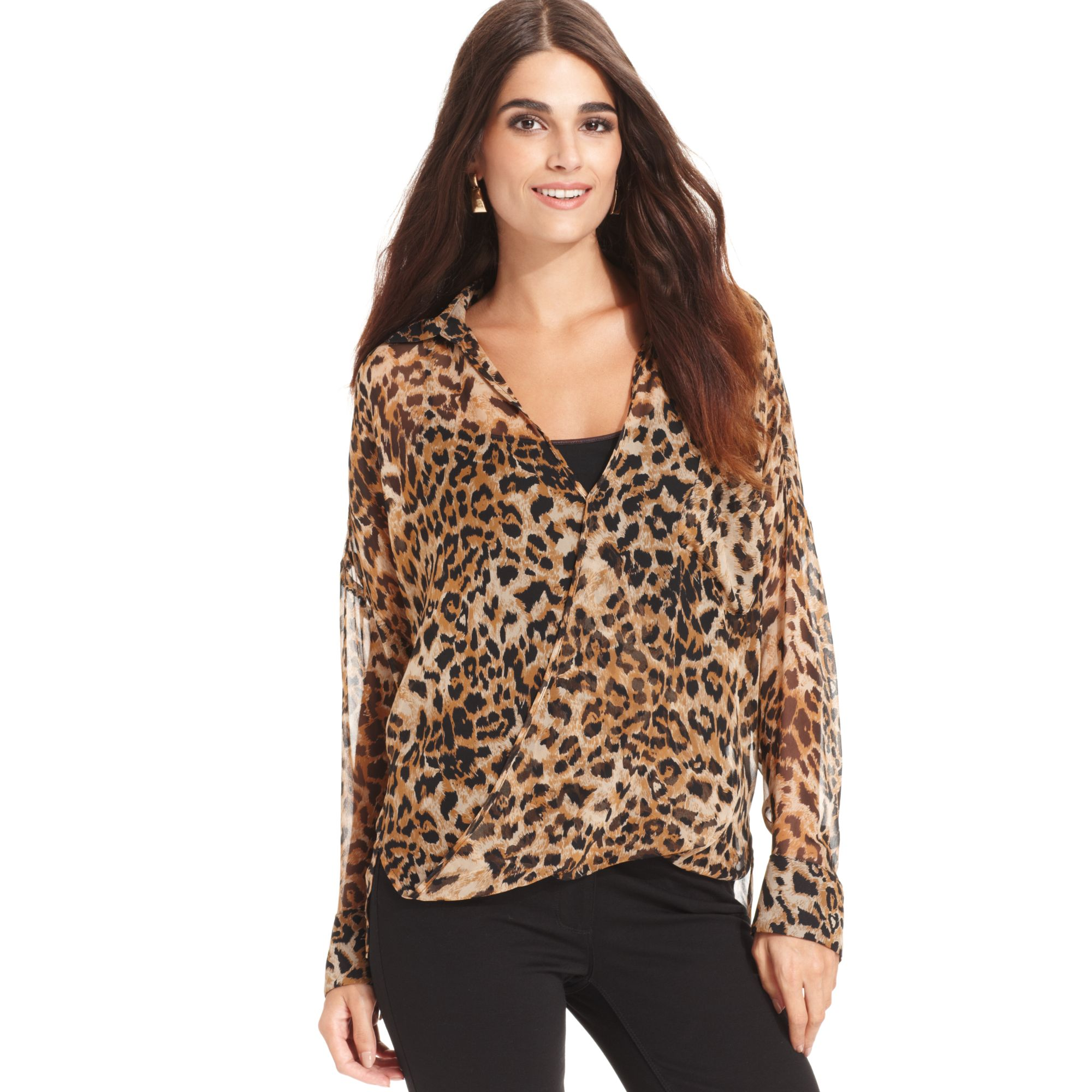 Vince Camuto Bird Print Blouse 120