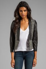 By Malene Birger Elegant Sway Chium Jacket in Black - Lyst