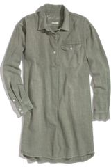 Madewell Utility Shirtdress - Lyst
