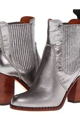 Marc By Marc Jacobs Metallic Chelsea Boot - Lyst