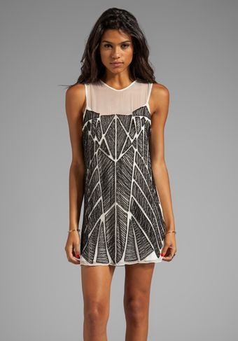 Parker Allegra Dress in White - Lyst