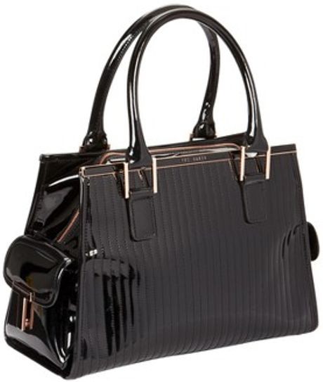 f5928267dcb Tory Burch Tote Bag: Ted Baker Bag Black Patent