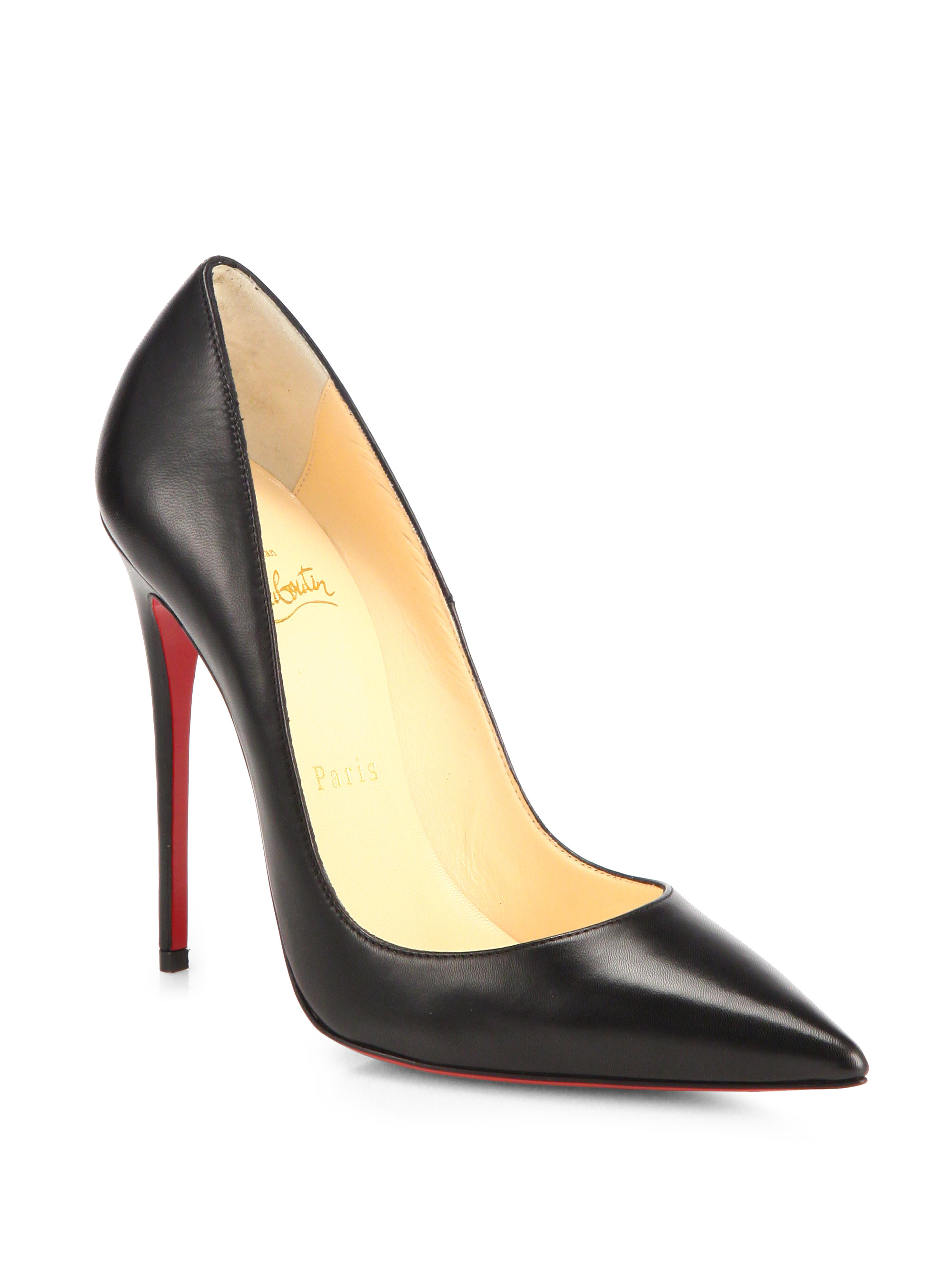 christian louboutin high heels black