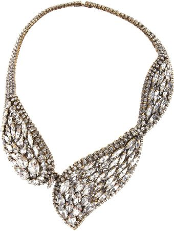 Erickson Beamon Hello Sweetie Goldplated Swarovski Crystal Necklace - Lyst