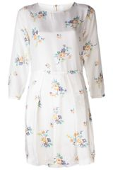 Girl. By Band Of Outsiders Long Sleeve Dress - Lyst