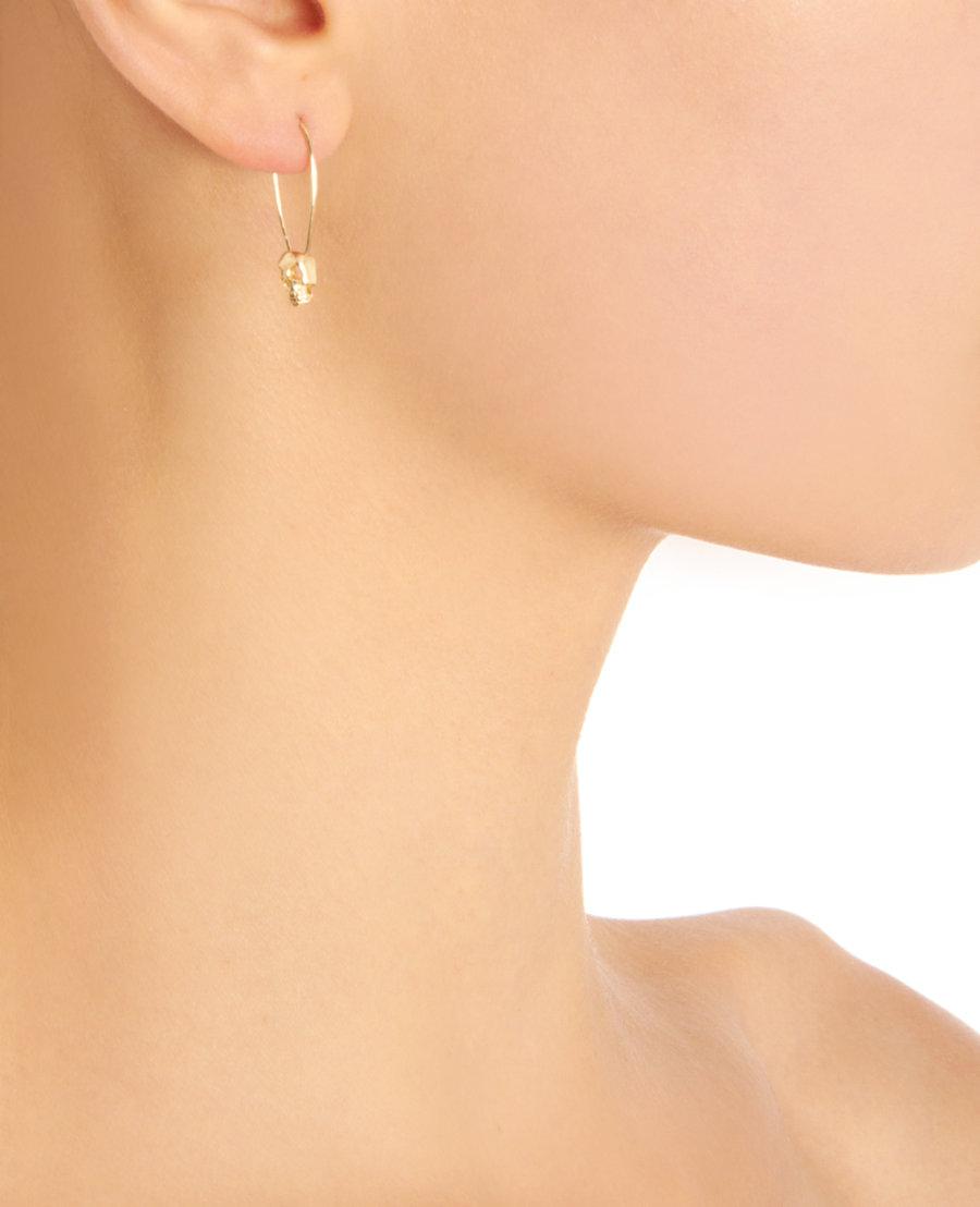 Diamant Et Boucles D'oreilles En Or Jaune Lorén Stewart GduI7f