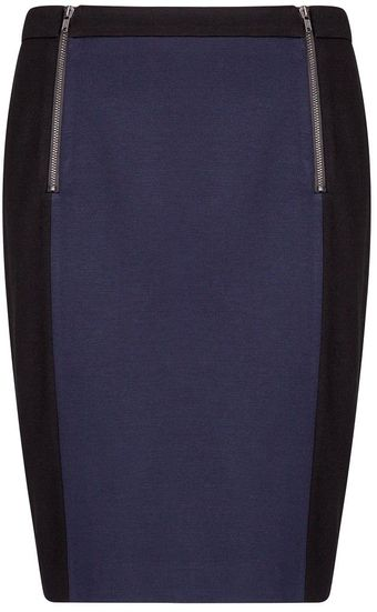 Mango Block Colour Skirt - Lyst