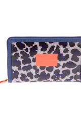 Marc By Marc Jacobs Animal Print Wallet - Lyst