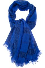Marc By Marc Jacobs Frayed Scarf - Lyst
