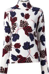 Marc By Marc Jacobs Tulip Printed Top - Lyst