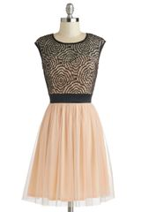 ModCloth Starlets Web Dress - Lyst