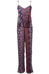 MSGM Pleated Jumpsuit - Lyst