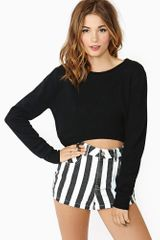 Nasty Gal High Life Crop Knit - Lyst