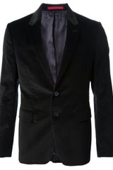 Paul Smith Velvet Blazer - Lyst