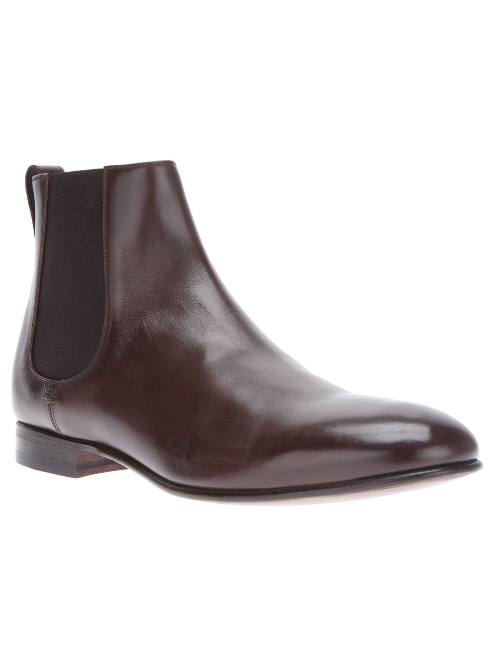 lyst sergio rossi ankle boot in brown for men. Black Bedroom Furniture Sets. Home Design Ideas