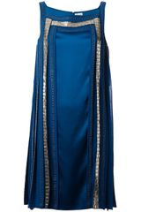 Temperley London Embellished Shift Dress - Lyst
