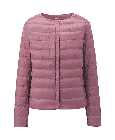 uniqlo ultra light down compact jacket in pink lyst. Black Bedroom Furniture Sets. Home Design Ideas