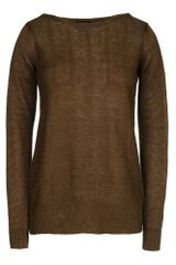 A.P.C. Long Sleeve Sweater - Lyst
