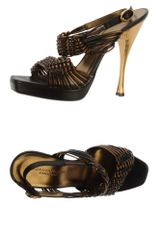 Donna Karan New York Sandals - Lyst
