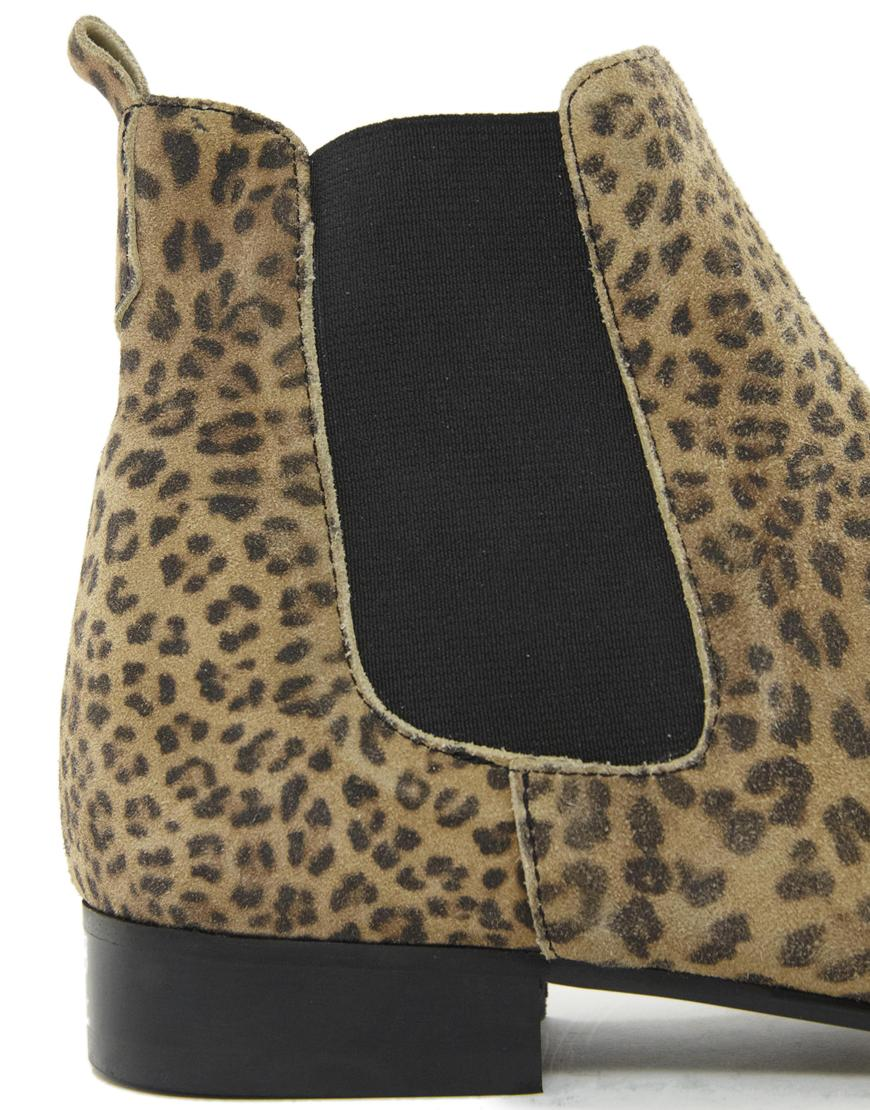ganni leopard støvler