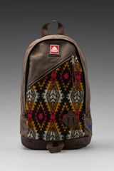Jansport X Pendleton Compadre Backpack in Olive - Lyst