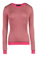 Jonathan Saunders Long Sleeve Sweater - Lyst