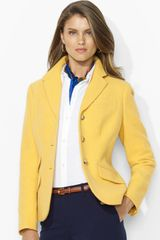 Ralph Lauren Three Button Hacking Jacket - Lyst
