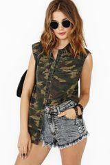 Nasty Gal Close Ranks Shirt - Lyst