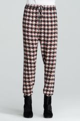 Rag & Bone Easier Printed Droppedrise Silk Pants - Lyst