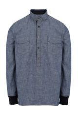 Sacai Long Sleeve Shirt - Lyst