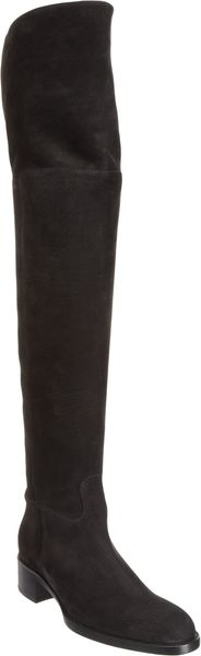 Sartore Nubuck Over-the-knee Boot - Lyst