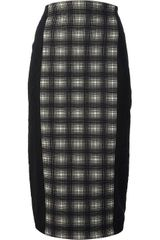 Antonio Marras Checked Pencil Skirt - Lyst