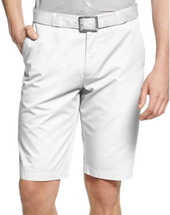 Calvin Klein Chino Walking Shorts - Lyst