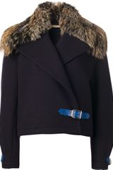 Christopher Kane Cropped Coat - Lyst