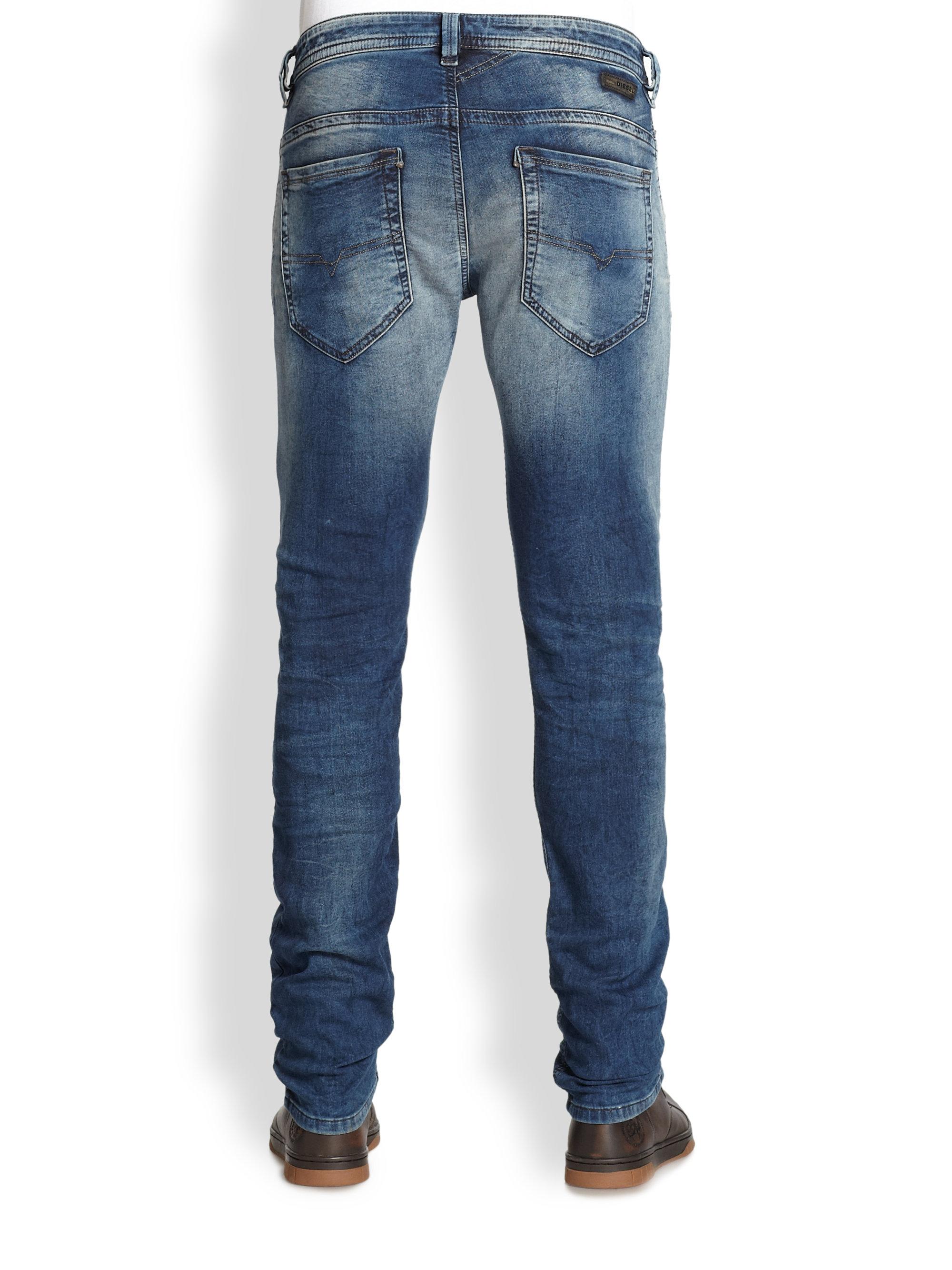 lyst diesel thavar jogg jeans in blue for men. Black Bedroom Furniture Sets. Home Design Ideas