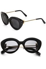 Elizabeth And James Round Catseye Sunglasses - Lyst