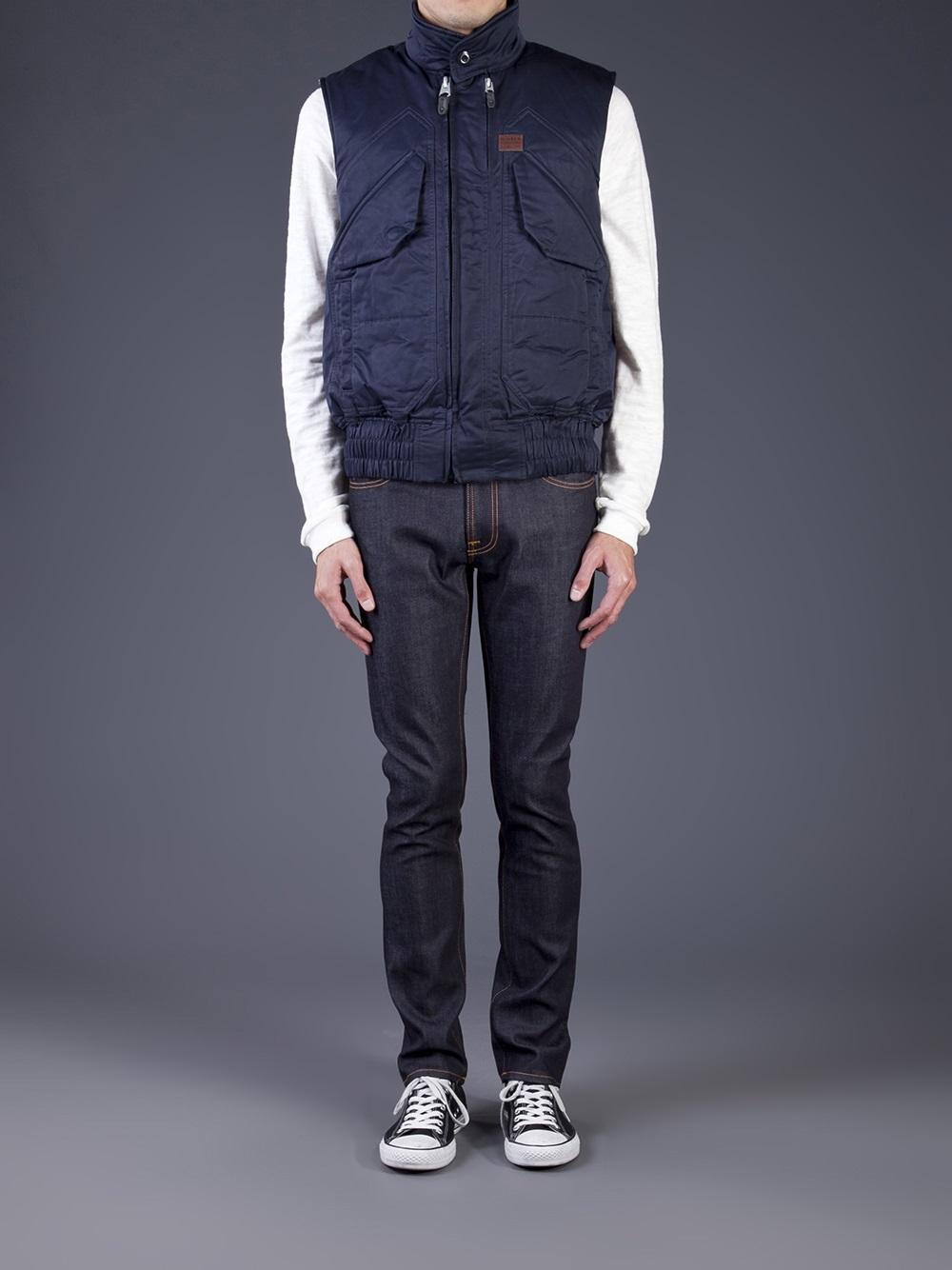 veste homme g star atlas vest jacket size s valeur 190 ebay. Black Bedroom Furniture Sets. Home Design Ideas