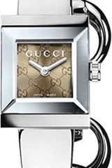 Gucci Gucci G Frame Stainless Steel Bangle Watch - Lyst