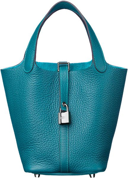 Hermes Picotin Lock in Green (brown) - Lyst
